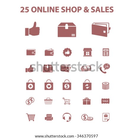 online store, shopping, retail, sales  icons, signs vector concept set for infographics, mobile, website, application