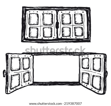 Enchanting 80 Window Clipart Black And White Decorating Design Of