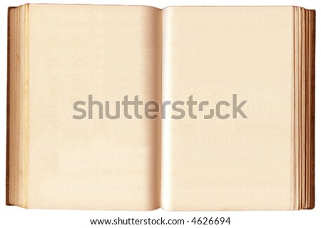 Open Book - stock vector