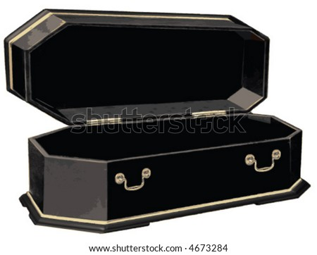 Open Vampire Coffin - #traffic-club