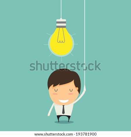 Open Idea - stock vector