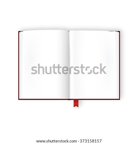 Open Diary Blank Stock Images RoyaltyFree Images  Vectors