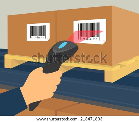 Barcode Scanning Stock Images Royalty Free Images