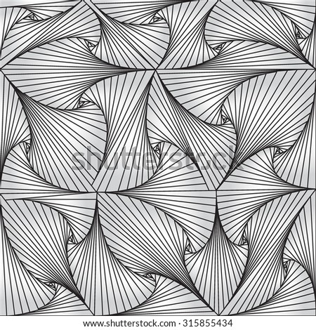 Optical Illusion. Abstract background. Opt Art Illustration for your design. Use for cards, invitation, wallpapers, pattern fills, web pages elements and etc. - stock vector