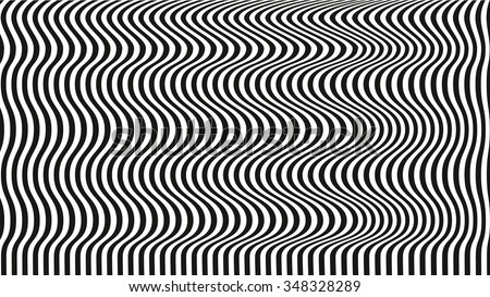 Optical Illusion Art Background Black And White Desktop Wallpaper Lines On