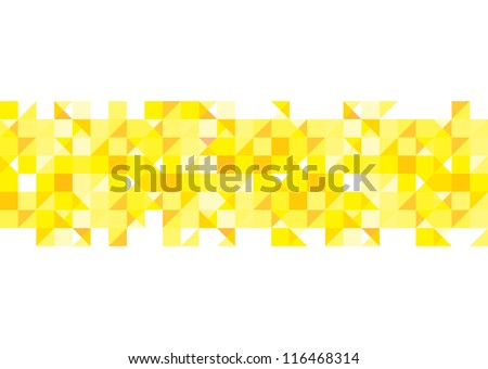 Optical illusion background in red white and blue with seamless pattern - stock vector