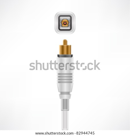 Optical Out plug & socket