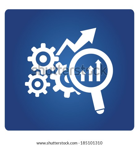 optimization symbol - stock vector
