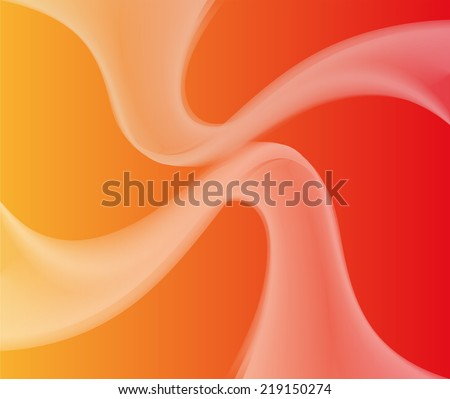 Orange Abstract background - stock vector