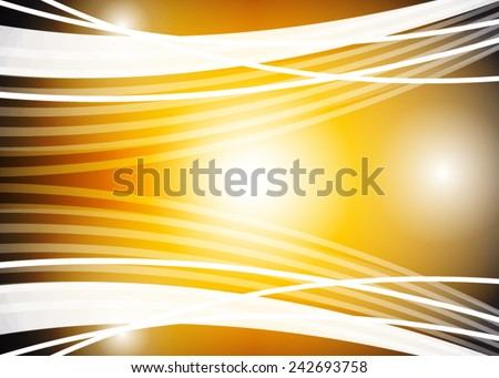 Orange abstract background - stock vector