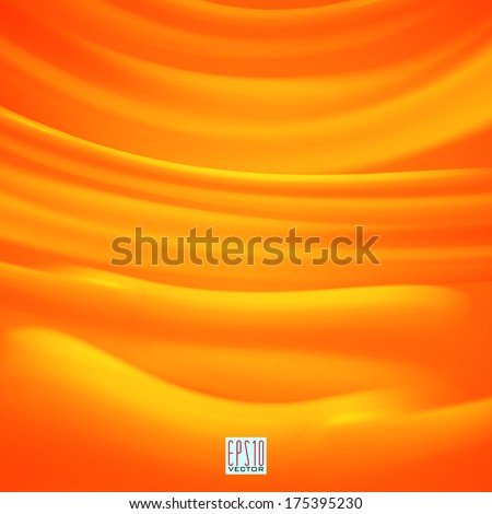 Orange abstract background.The illustration contains transparency and effects. EPS10 - stock vector