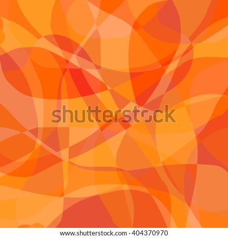 orange abstract pattern - stock vector
