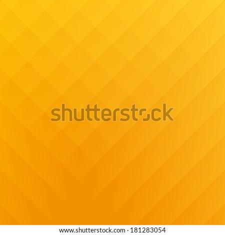 orange background. vector illustration. eps10 - stock vector