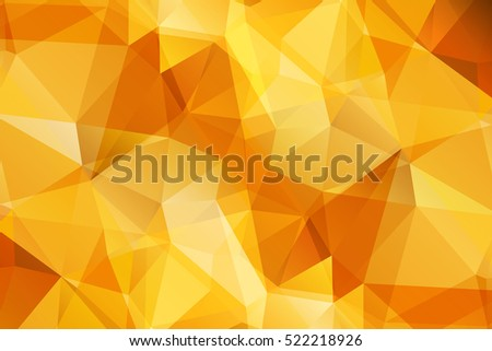 Orange Modern Geometrical Abstract Background Triangular Backdrop Bright Wallpaper Geometric Texture Colorful