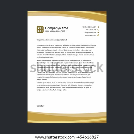 Business Letterhead Images RoyaltyFree Images Vectors – Business Letterhead