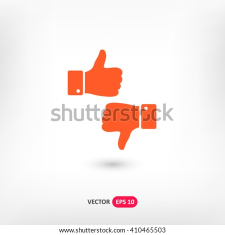 Orange Up down web vector icon on background with shadow