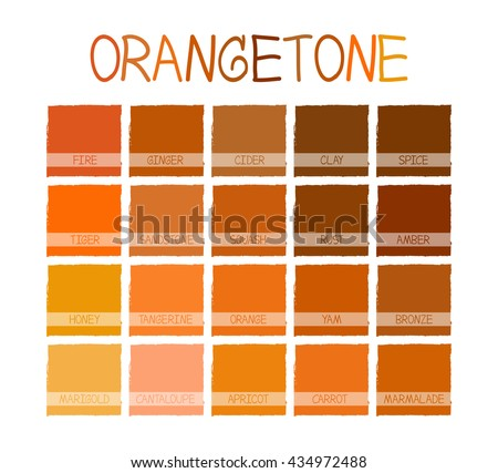Shades Of Orange Names brown colors stock images, royalty-free images & vectors