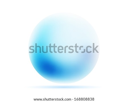 orb sphere  abstract  background with gradients mesh  lines vector illustration eps 10 - stock vector