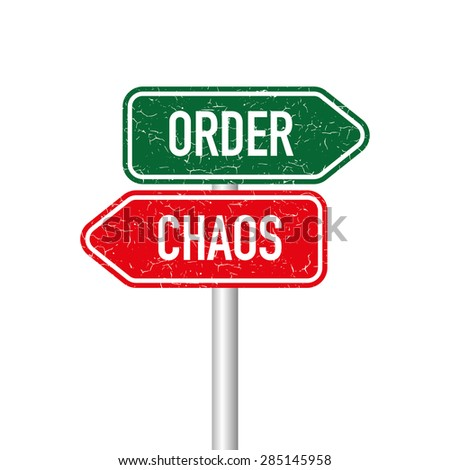 Order and chaos signpost