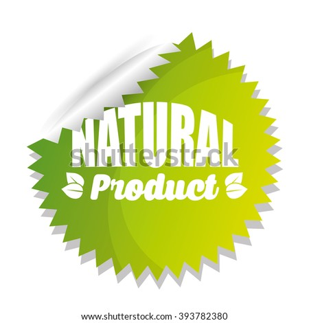 Organic and Natural Product label