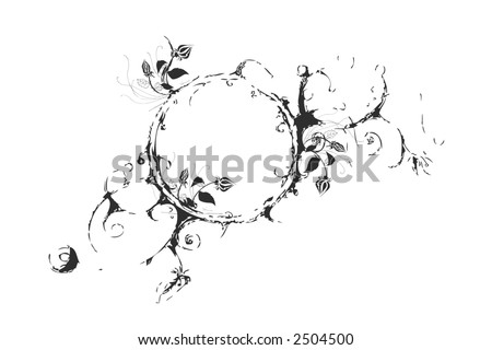 organic background - stock vector