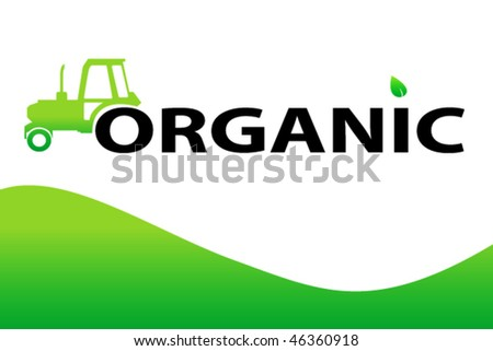 organic design background - stock vector