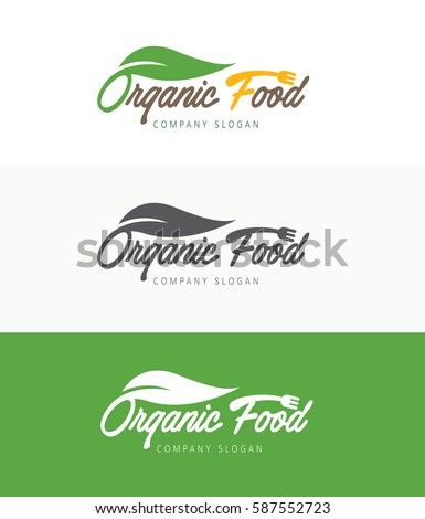 Organic Food Logo Stock Images, Royalty-Free Images ...