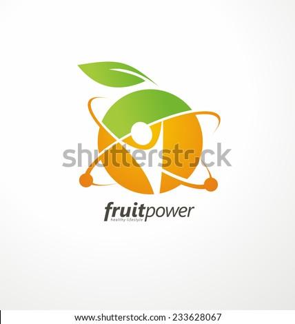 DNA Diet Vitamin Logo Design