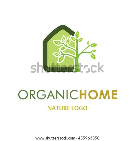 Organic home  abstract vector logo design template icon of company identity  symbol concept for healthSea Keeper Abstract Vector Logo Design Stock Vector 452564791  . Home Health Care Logo Design. Home Design Ideas