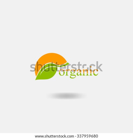 Organic icon - stock vector