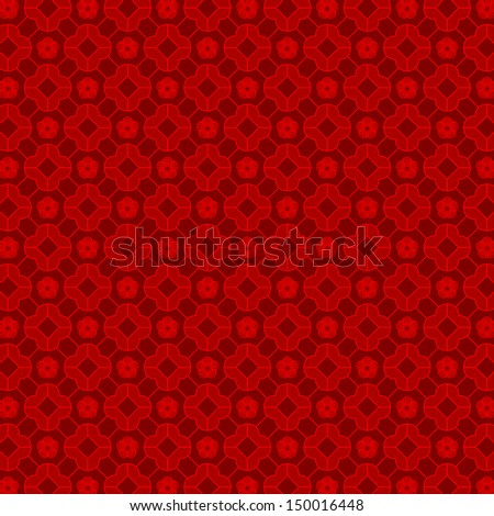 Oriental Chinese Seamless Pattern Background Wallpaper - stock vector