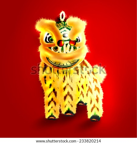 Oriental Happy Chinese New Year Element Vector Design