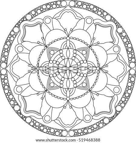Geometric Art Coloring Book : Coloring book page stock photos royalty free images & vectors