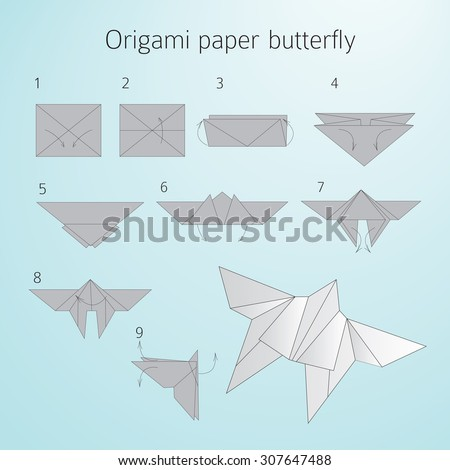 Origami Butterfly Stock Photos, Images, & Pictures ... - photo#11