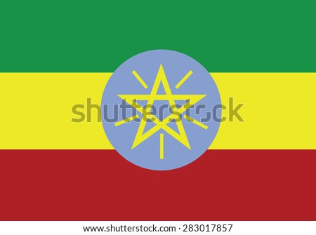 original Flag of Ethiopia