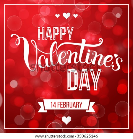 Original hand lettering happy valentines day stock photo photo original hand lettering happy valentines day vector illustration for valentines day posters m4hsunfo Images