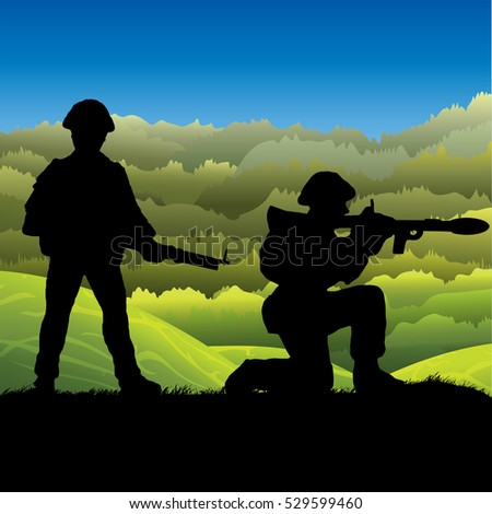 North Vietnamese Soldier Clip Art