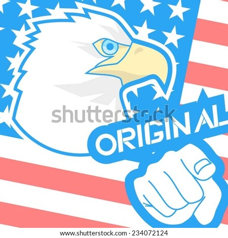 Original message - stock vector