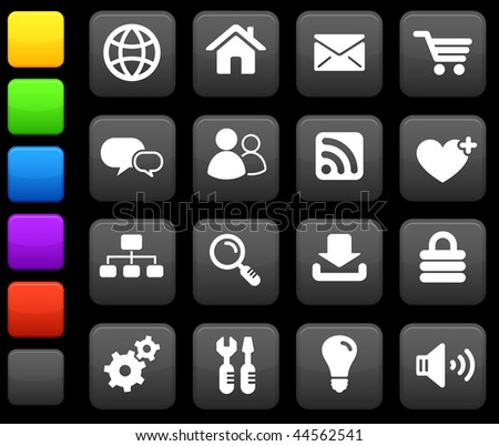 Original vector illustration: internet design icon set