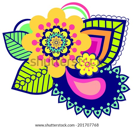 Ornament - stock vector