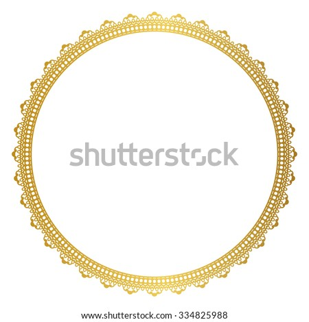 Ornament ruffled - stock vector