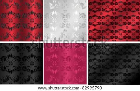 ornamental backgrounds - stock vector