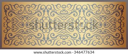 Ornamental Composition - stock vector