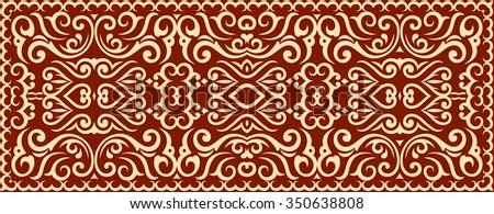 Ornamental composition. - stock vector