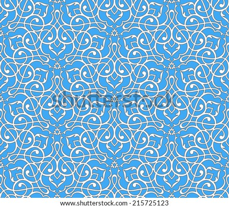 Ornamental pattern. Arabic seamless background.  Moroccan background.
