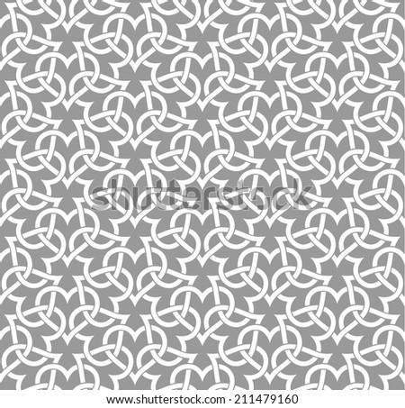 Ornamental pattern. Traditional Arabic seamless ornament. - stock vector