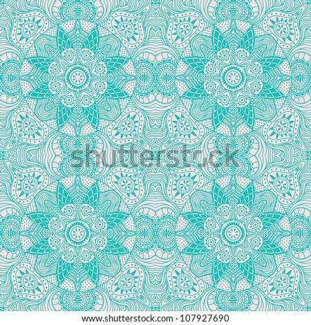 Ornamental round lace pattern, circle background with many details, looks like crocheting handmade lace, lacy arabesque designs. Orient traditional ornament. Oriental motif. Vintage lace ornament. - stock vector