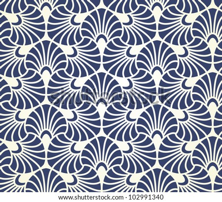 Ornamental seamless pattern. Vector abstract background. - stock vector