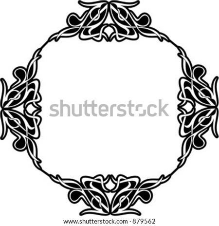 ornamental vector panel frame 100 very clean stock vector 879562 rh shutterstock com ornament vector frame ornamental victorian front gates
