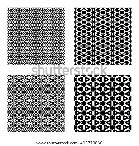 Ornamental Vector Repeating Backgrounds